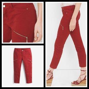 WHBM skinny crop pants